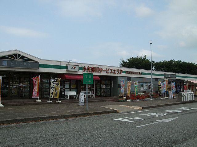 小矢部川SA 富山
