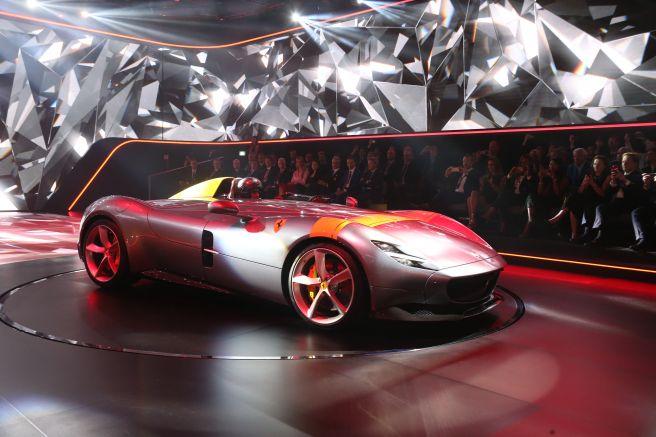 フェラーリ モンツァ SP1