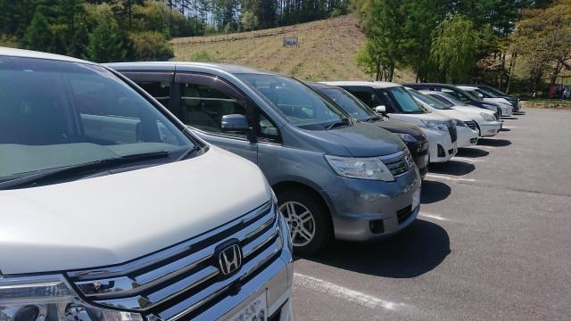 ミニバン駐車場