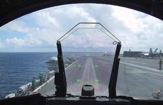 ヘッドアップディスプレイ F:A-18 ホーネット