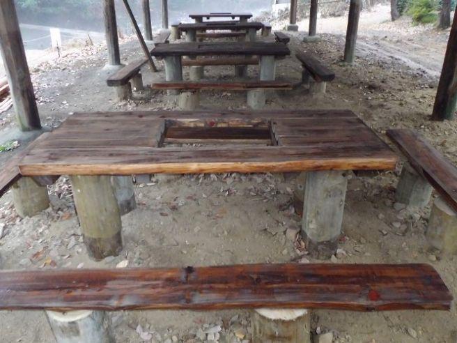 八曽モミの木キャンプ場 BBQ