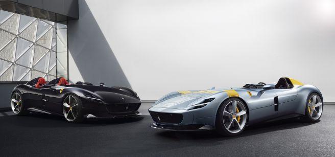 フェラーリ モンツァ SP1-SP2