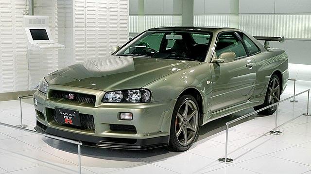 日産 スカイライン GT-R R34