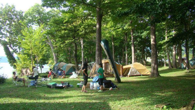 仲洞爺キャンプ場 北海道