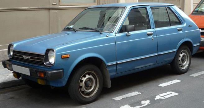 トヨタ 2代目 スターレット
