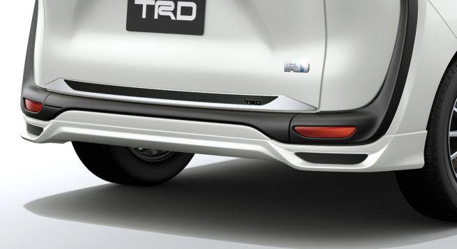 トヨタ シエンタ TRD リヤアンダースポイラー