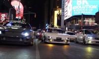 伝説の日本車がNYタイムズスクエアに集結!アメリカの「25年ルール」とは?