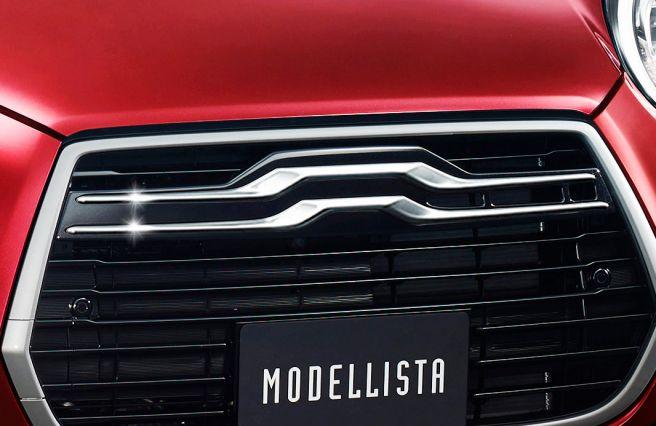トヨタ パッソ モデリスタ レイヤードウイングガーニッシュ(メッキ調)