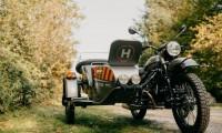 【世界初】ドローン標準装備のバイクがロシアのメーカー「ウラル」から発売!