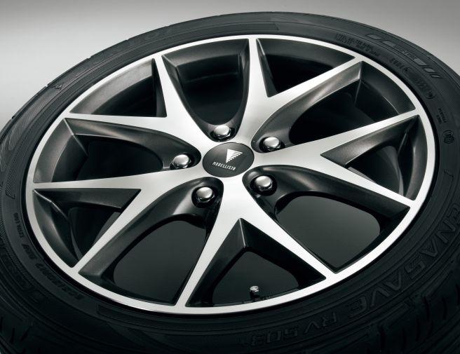 トヨタ シエンタ モデリスタ 17インチ アルミホイール&タイヤセット MODELLISTA WingDancerⅢ