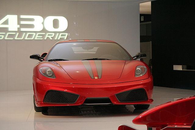 フェラーリ 430 スクーデリア