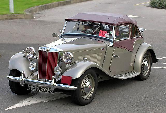 MG TD 1953年式