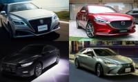 2018年注目の国産新型セダンまとめ!日本初導入車や復活車も登場