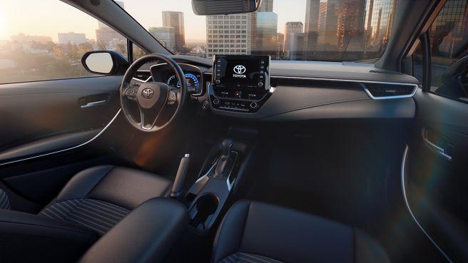トヨタ カローラレビン 2018年中国モデル 内装