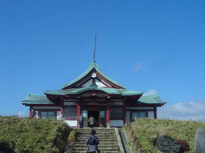 箱根元宮社殿(駒ヶ岳山頂)