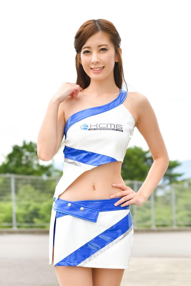 レースクイーン 藤田香澄