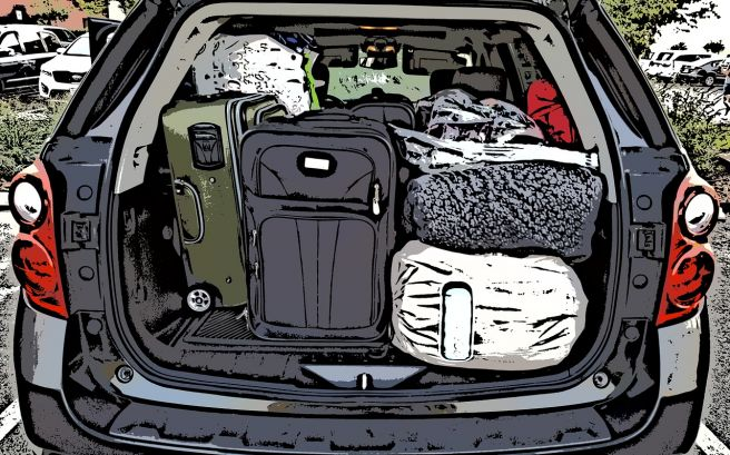 トランク 荷物