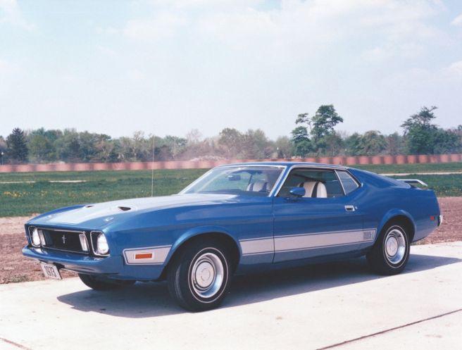 フォード マスタング マッハ1_1973