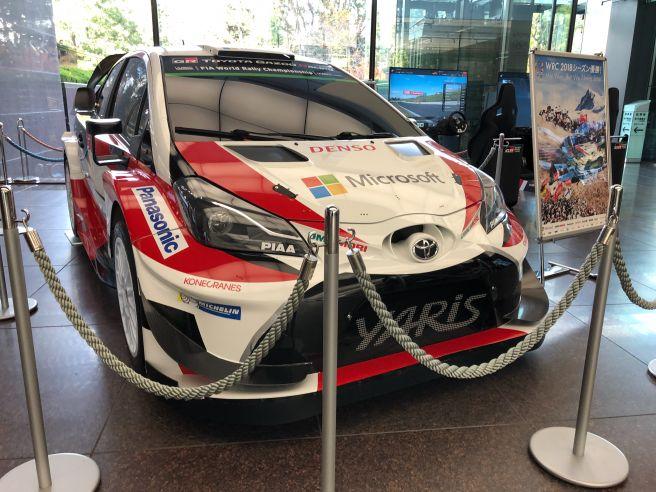 トヨタ ヤリス 2018年WRC仕様