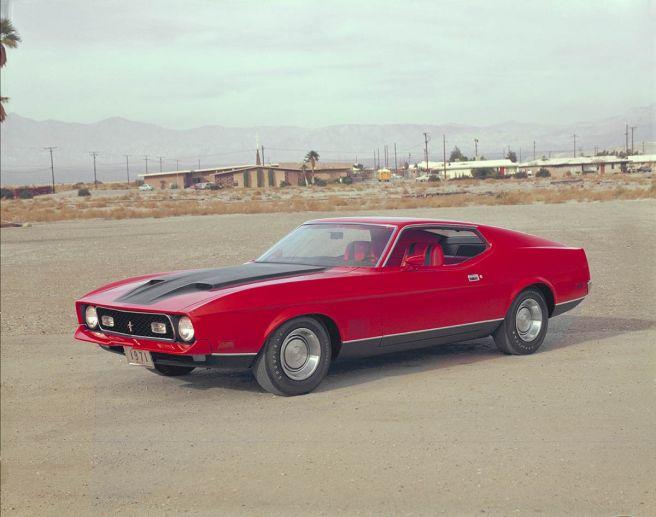 フォード マスタング マッハ1_1971