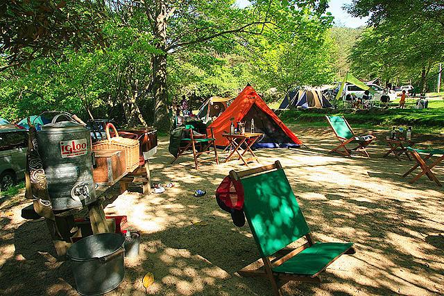 自然の森ファミリーオートキャンプ場 大阪府