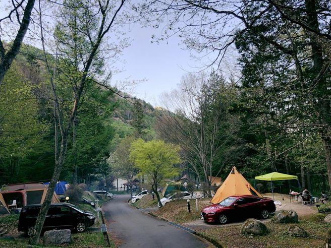 小黒川渓谷キャンプ場 長野県