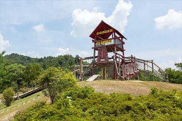 滋賀県希望が丘文化公園 アスレチック