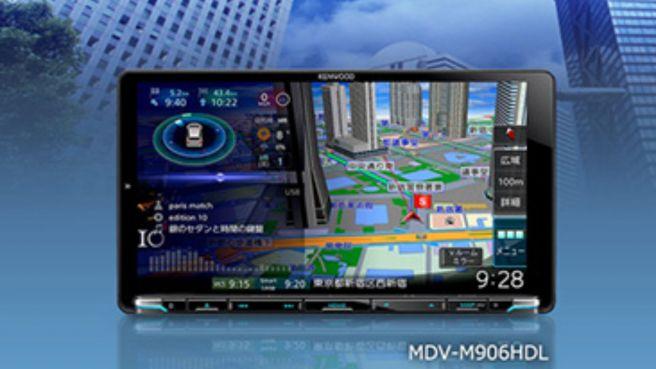 KENWOOD 彩速ナビゲーション「MDV-M906HDL」