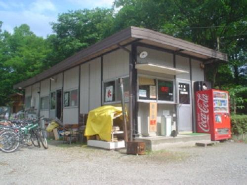 木崎湖キャンプ場 売店