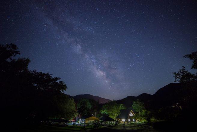 銀河もみじキャンプ場 長野県