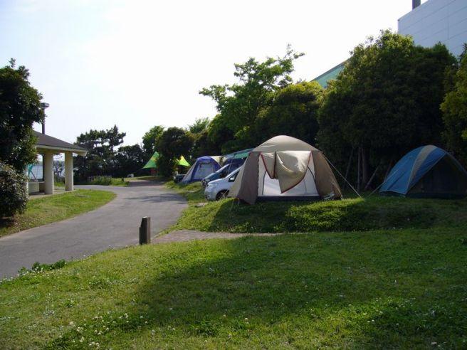 城南島海浜公園キャンプ場 東京都