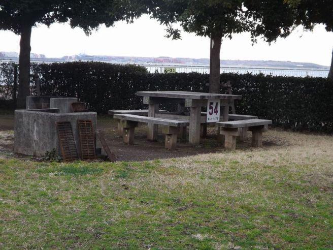 城南島海浜公園キャンプ場サイト 東京都
