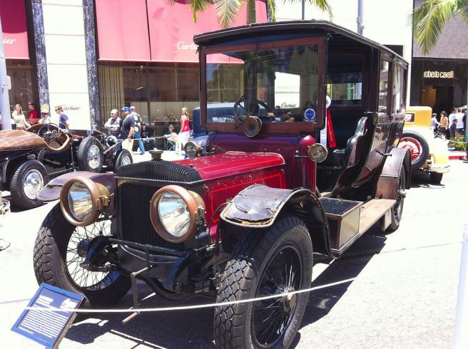 ダイムラー ランドレー57.2HP