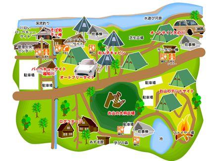 新田ふるさと村 マップ