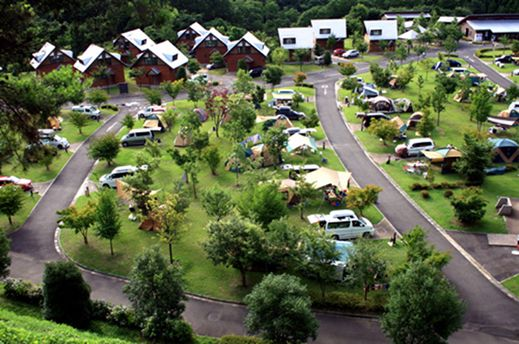 大子広域公園オートキャンプ場グリンヴィラ 茨城県