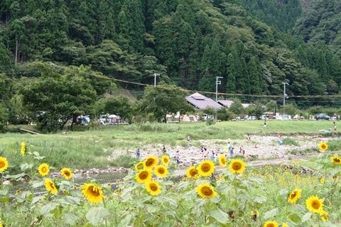 南光自然観察村 全景