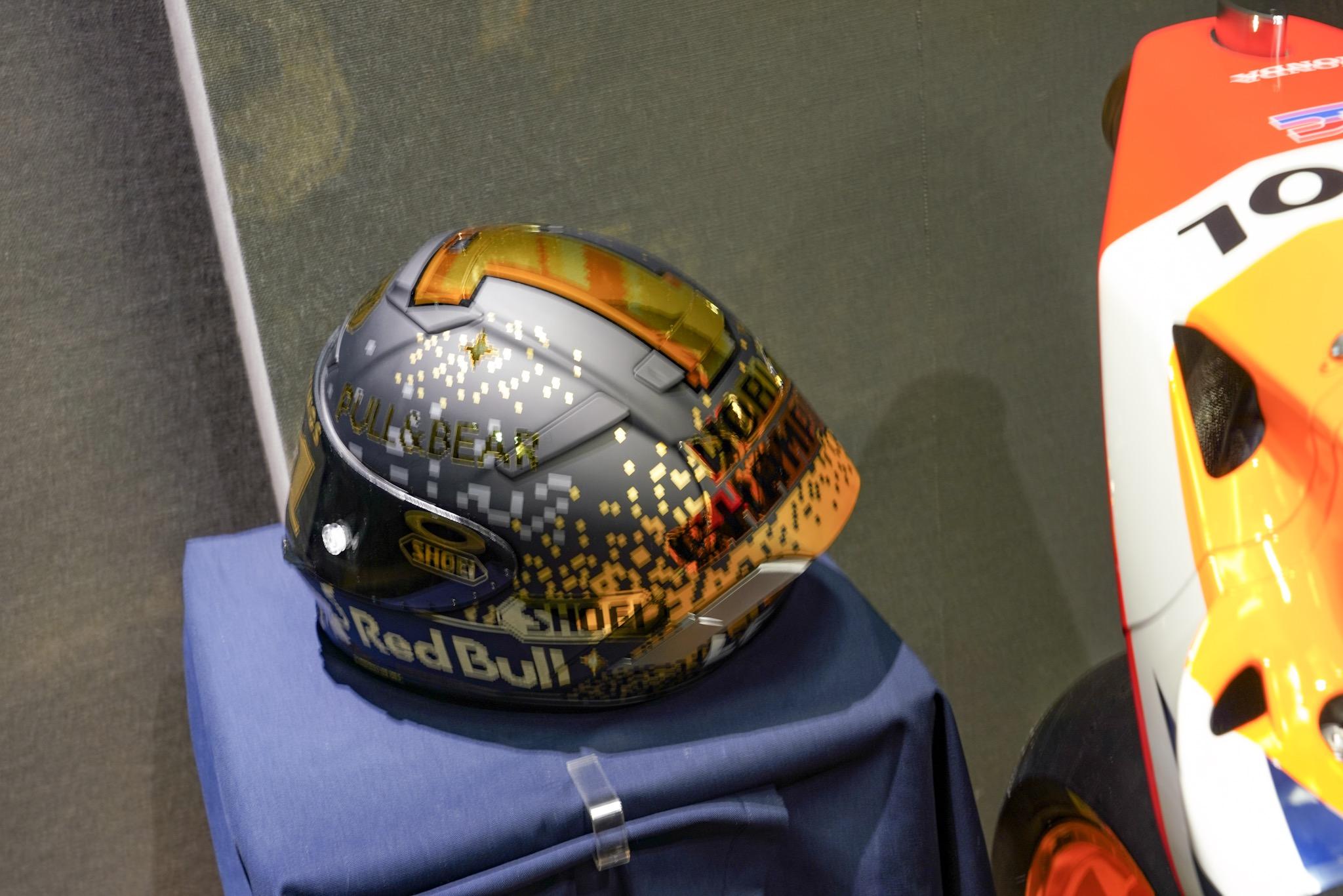 マルク・マルケスのヘルメット