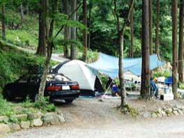 このまさわキャンプ場 オートキャンプ場