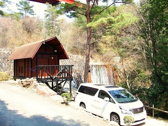 一里松キャンプ場 サイト