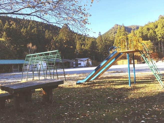 洞川キャンプ場 遊具
