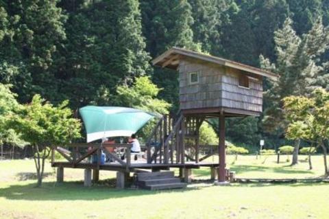 南光自然観察村 ツリーハウス