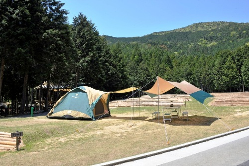 キャンプリゾート森のひととき 大型サイト