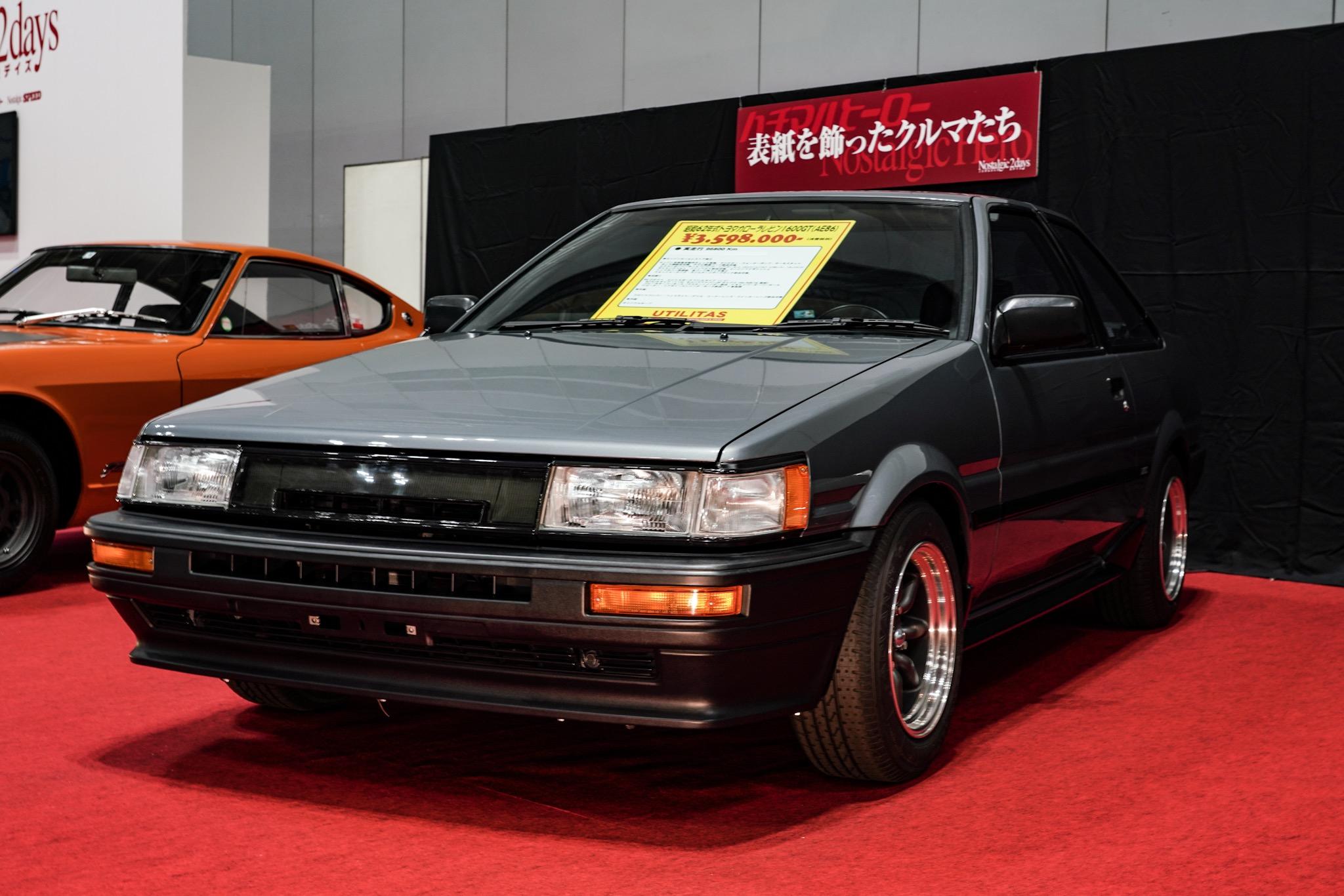 トヨタ カローラレビン AE86 ノスタルジック2デイズ2019