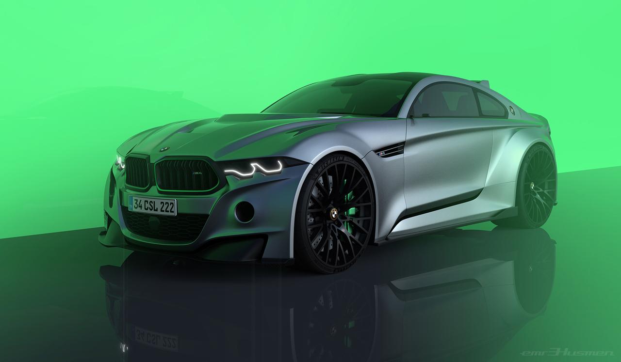 BMW M4 CSL_2019