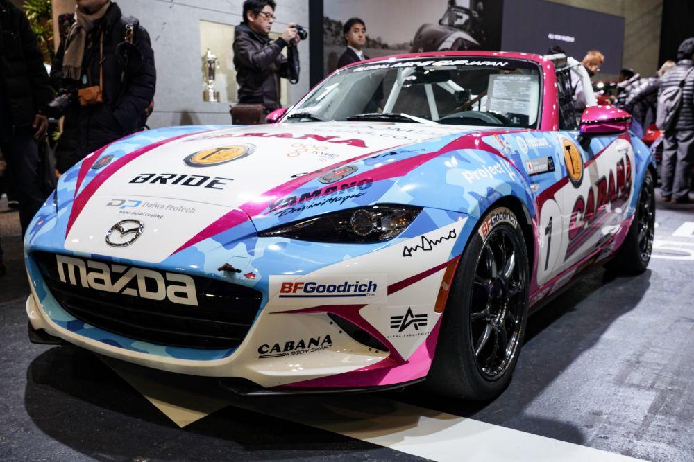 マツダ ロードスター GLOBAL MX-5 CUP 仕様車