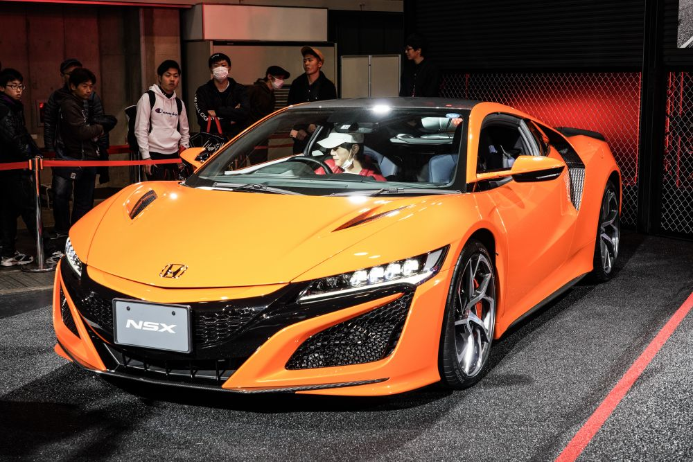 ホンダ NSX(2019年版改良モデル)