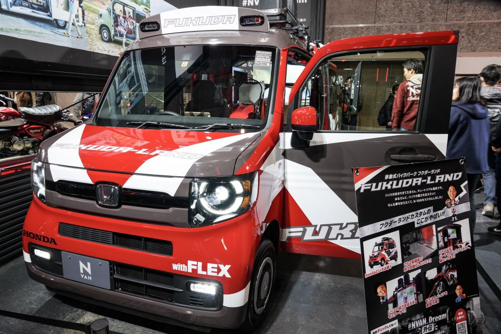 N-VAN チュートリアル福田カスタム仕様車 with FLEX