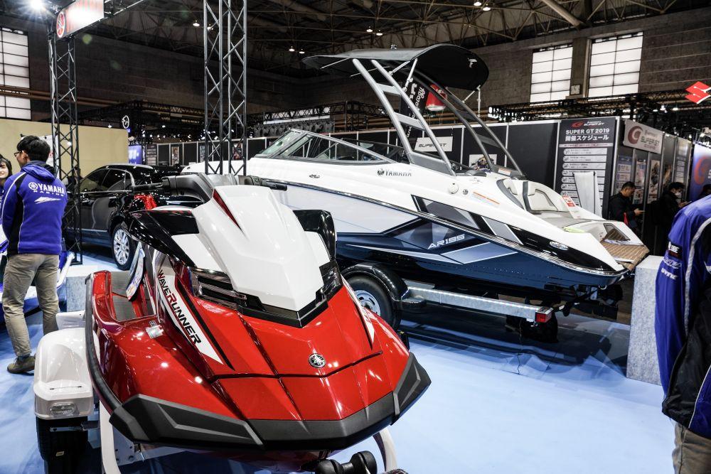 ヤマハ ジェットスキー・ボート 大阪オートメッセ2019