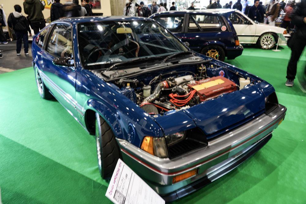 初代 前期型 CR-X 無限