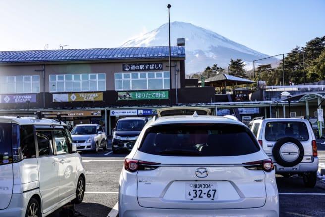 マツダ CX-8(道の駅すばしりで撮影)